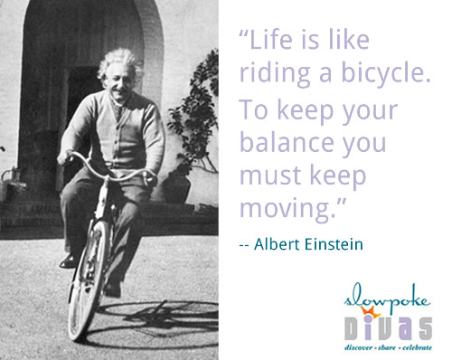 """Albert Einstein Quotes Life Is Like Riding A Bicycle: Quote By Albert Einstein: """"Life Is Like Riding A Bicycle"""